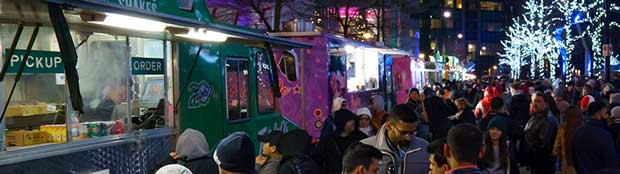 Vancouver's Largest Winter Food Truck Festival